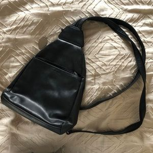 9 west black small backpack